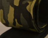 DSLR Camera Strap Cover - lens cap pocket and padded - Army  camouflage
