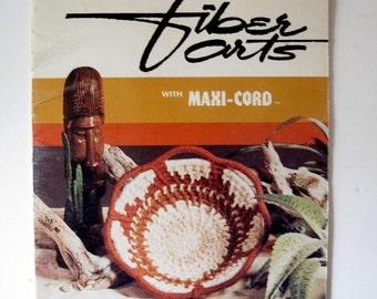 Macrame Patterns - Retro DIY Home Decor - Fiber Arts with Maxi-Cord book