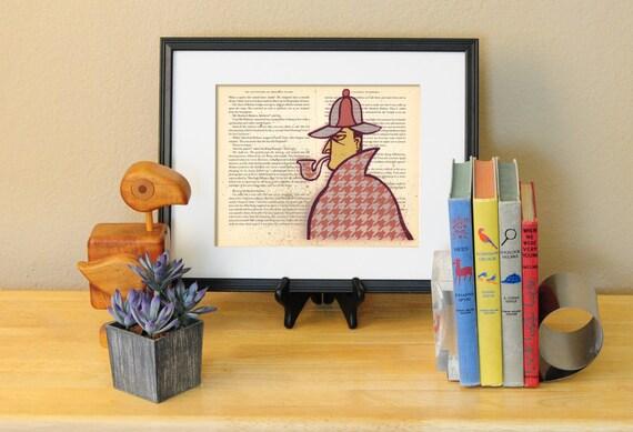 Sherlock Holmes LitKids Print
