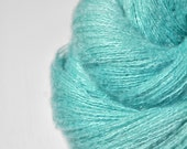Cyan which must not be named - Silk/Cashmere Fine Lace Yarn