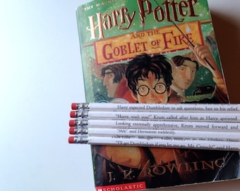 Harry Potter 4 Wrapped Pencil Set