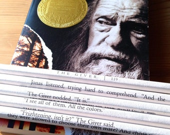 The Giver Wrapped Pencil Set