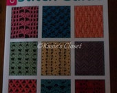 Annies Attic Crochet Stitch Guide in EXC used condition