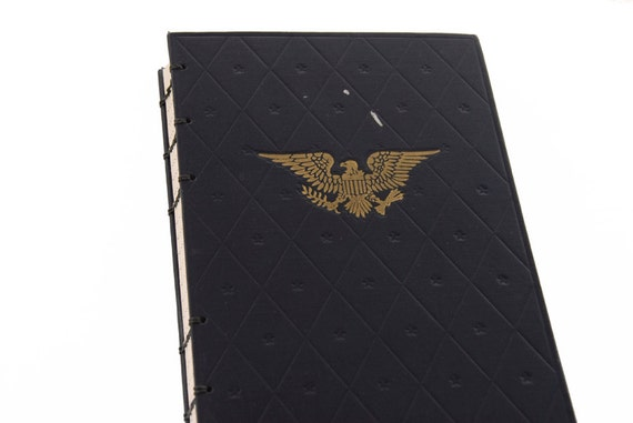 1950 AMERICA Vintage Lined Notebook Journal