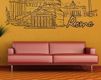 Vinyl Wall Decal Sticker Rome 1373s
