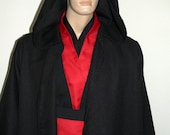 Star Wars Custom Red and Black Sith Costume No longer available for Hallween delivery.