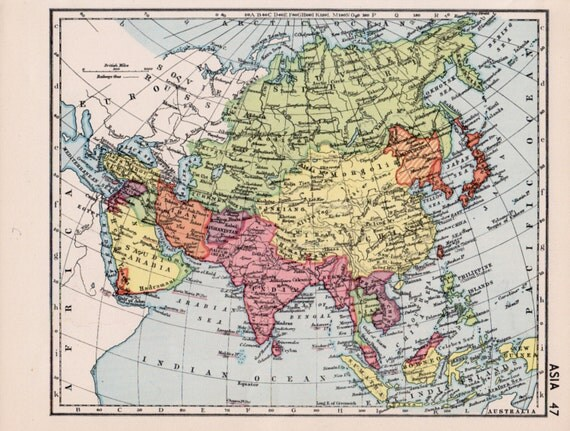 Map Of Asia 1930.Asia 1930 Best Cars 2018