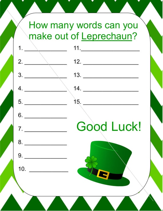 what word can i make out of these letters how many words can you make out of leprechaun 25599 | il 570xN.571972009 7dlh