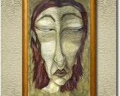 Greed - Fine Art Print on heavy Cotton Canvas - unframed