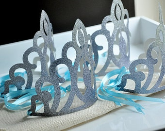 Elsa Crowns Handcrafted In 2 5 Business Days Frozen Party Favors
