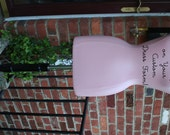 Dress Form Mannequin Your Color Your Word / Name in Your Font Artful Decor, Custom Made Painted DEMONSTRATION Personalized Gift Customized