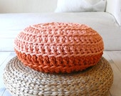 Floor Cushion Crochet - Thick Cotton -  two colors