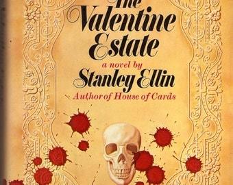 Signed Stanley Ellin The Valentine Estate 1968 HC 1st