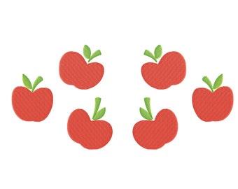 PES FILES: Applejack Cutie Mark - Embroidery Machine Design File