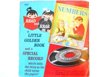 Numbers, a Little Golden Book Record, 45 RPM