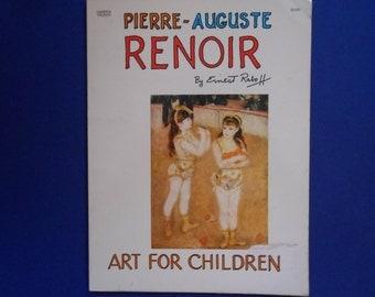 Renoir Art for Children, a Vintage Children's Book