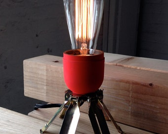 Distressed Beacon - Cluster Bomb Lamp