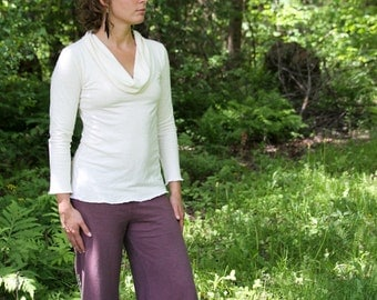Simplicity Cowl Top- Organic Hemp and Cotton