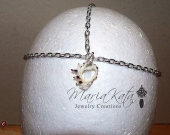 Newborn/Baby to Adult Head Chain-Seashell Piece-One of a kind