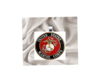 Pendant Necklace US Marines