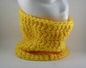 Classic Chunky Cowl - Freesia Pittsburgh Bright Yellow 2014 Spring Fashion