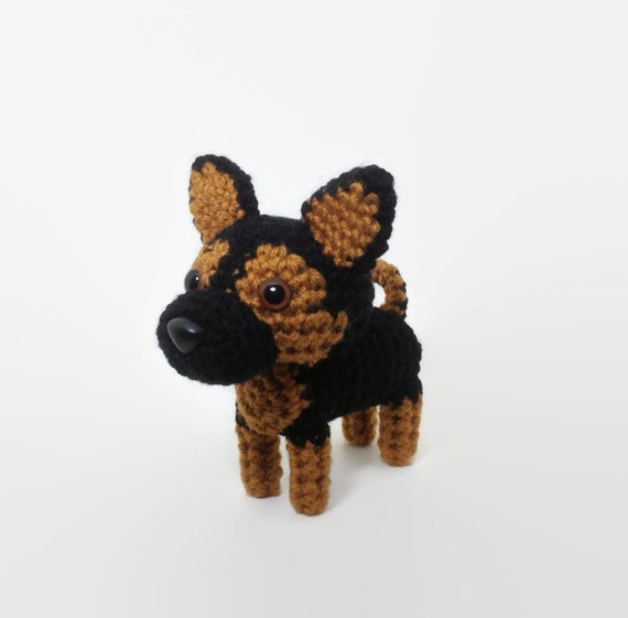 German Shepherd PDF Crochet Pattern by ScareCrow Orig ... |Crochet German Shepherd