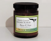 Sugar Scrub, Orange Spearmint Hand Candy Sugar Scrub