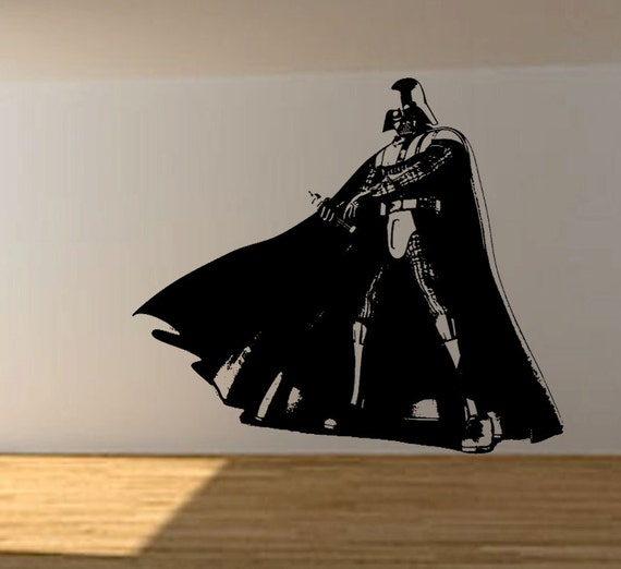 star wars wall decals wars vinyl wall decal wall decor darth by 11697