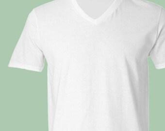Soft V-neck T-shirt