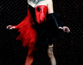 LAST ONE Harley : Burlesque Comic Book Tulle Corset Comic-con Cosplay Costume Fantasy Fairy Sexy Adult Women's