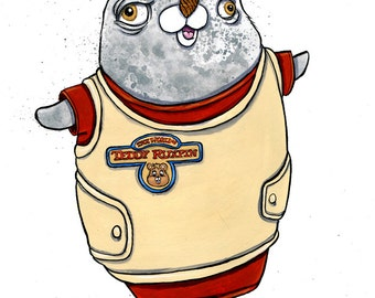Teddy Ruxpin Narwhal