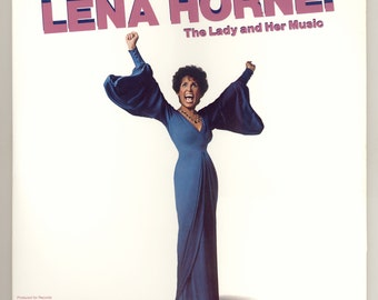 Lena Horne : The Lady and Her Music, Live on Broadway, Vintage Vinyl Record Album, 1981  2 LP Set Stage Performance