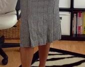 Vintage Tweed Midi Skirt