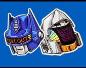 Robots After All Sticker Set
