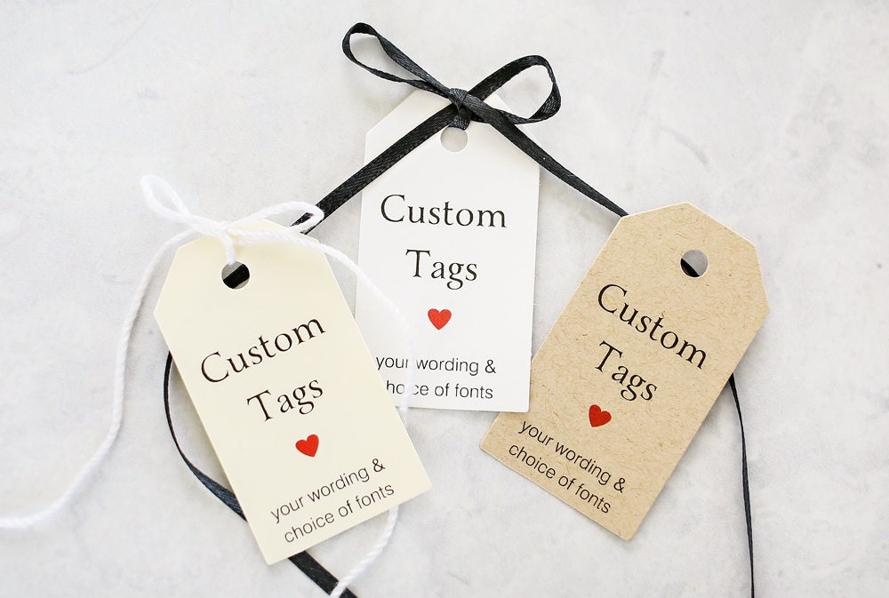 Wedding gift tag printables