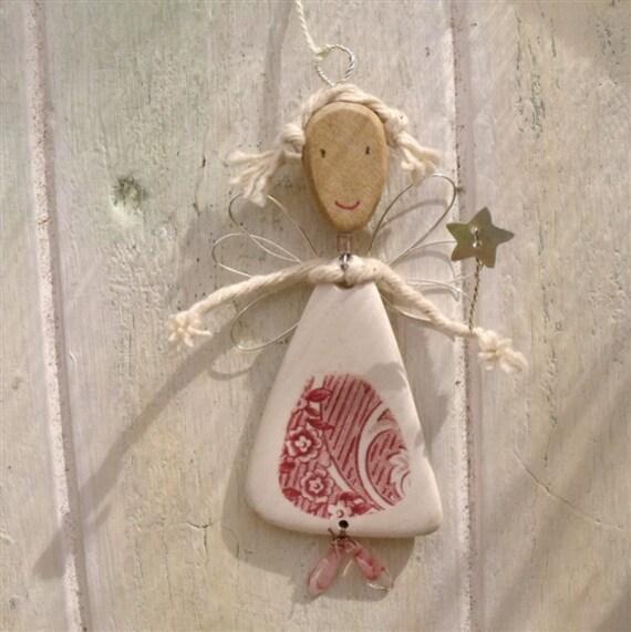 Little Fairy Tree Ornament Vintage China Christmas