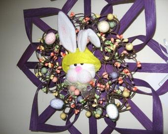 "Easter Wreath Alternative 14"""