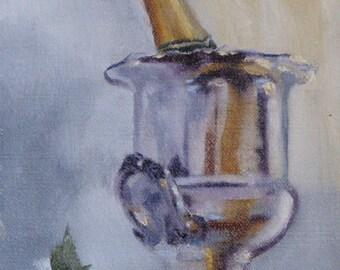 Victory is Sweet - Original Oil Painting