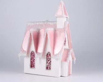 Paper House Ornament - Church