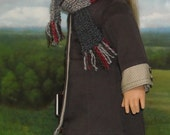 Brown Twill Coat, Skirt, and Tunic Outfit for Contemporary 18 inch Girls