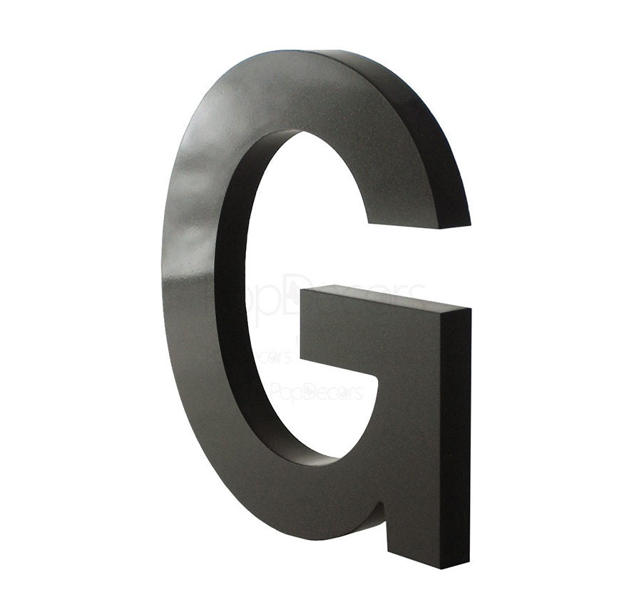 10h 3d plexiglass acrylic letters with your own text for Acrylic dimensional letters