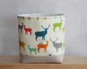 Nursery Storage Basket Deer