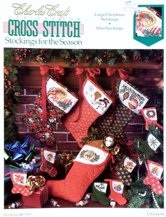Charles craft designs christmas stockings for the seasons for Charles craft christmas stockings