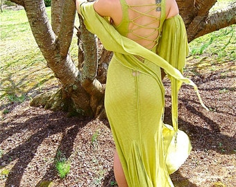 Arm Sleeves Long Draping Bohemian Fairy Style, Medieval Festival Sleeves, Wings, Many Colors, Custom Options