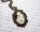 Madonna Necklace, Madonna and Child Necklace, Madonna Jewelry, Virgin Mary, Baby Jesus, Medallion Necklace, Swedish jewelry, Made in Sweden