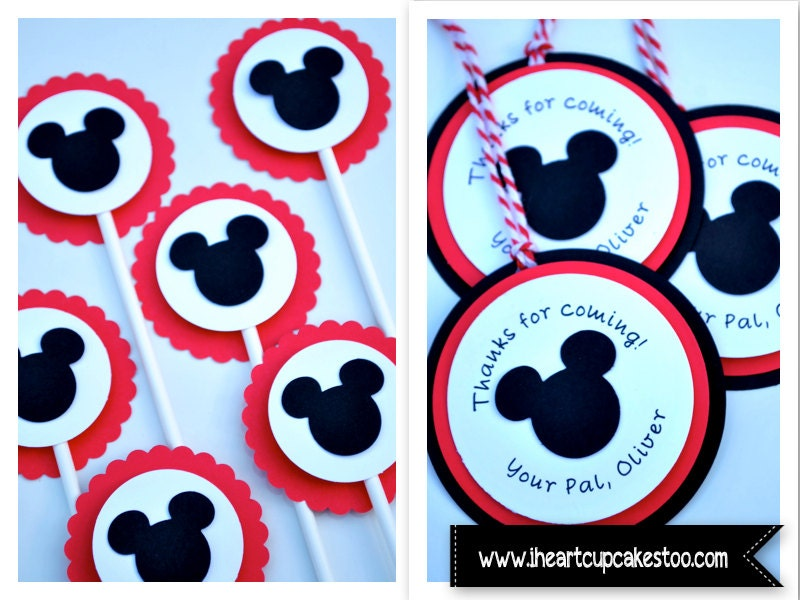 Mickey Mouse Cake Toppers Canada