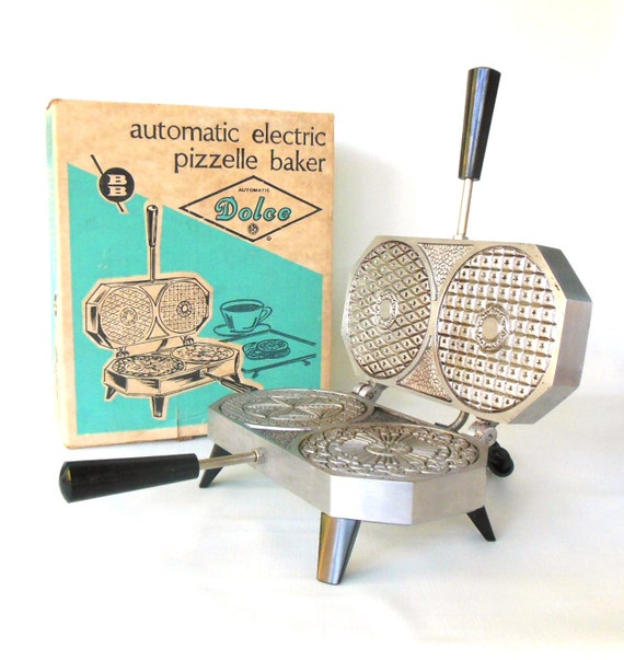 Dolce Pizzelle Maker Iron Berarducci Bros Cast By