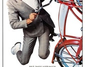 Pee Wee's Big Adventure - Movie Comedy Poster Print  13x19 - Home Theater decor - Pee Wee Herman