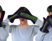 Crochet Pattern-- Woman's All Good Mittens --Crochet Pattern