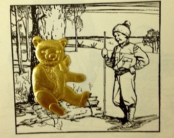 Beloved Teddy Bear  (2 pc)